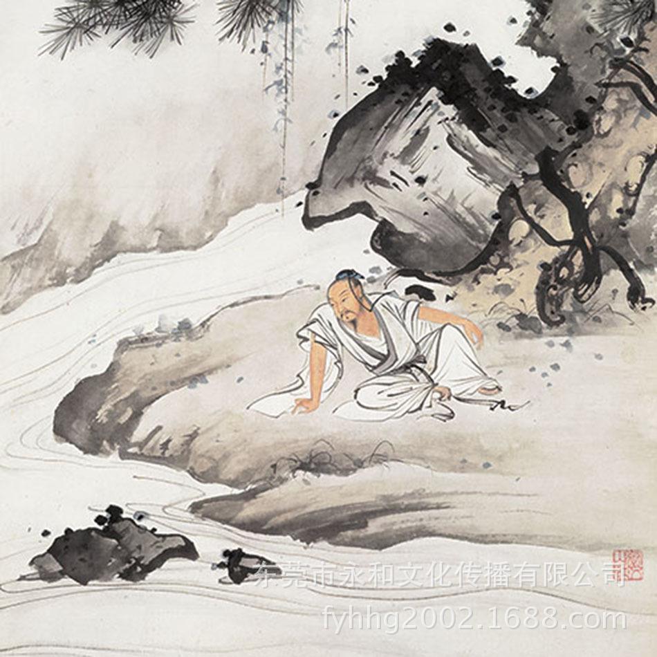 陈少梅-人物图-局部1